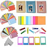 Xtech FujiFilm Instax Mini 9/8 ACCESSORIES KIT f/ Fujifilm Instax MINI 9 / MINI 8 Includes: 3 Photo Albums + Colorful Paper / Plastic Frames + 60 Colorful Sticker Frames