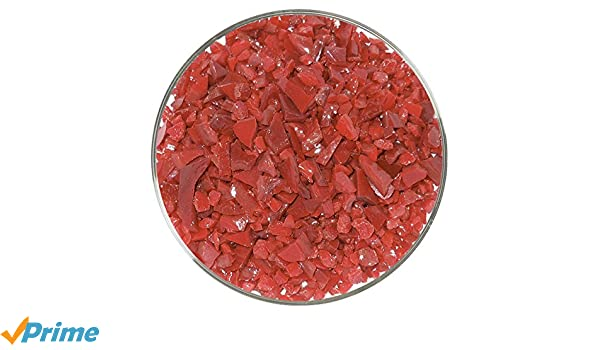 96COE 4oz Made from System 96 Glass Ruby Red Transparent Fine Frit