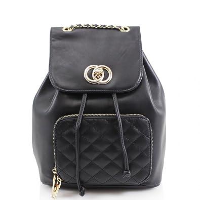 fdc18ed0e8 LeahWard Women s Girls Fashion Backpack Fashion Handbags Travel Bag For  Holiday 832 (BLACK)