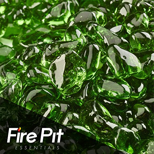 Pine Mountain Green Eco Fire Glass Dots Firepit Glass 10 ...