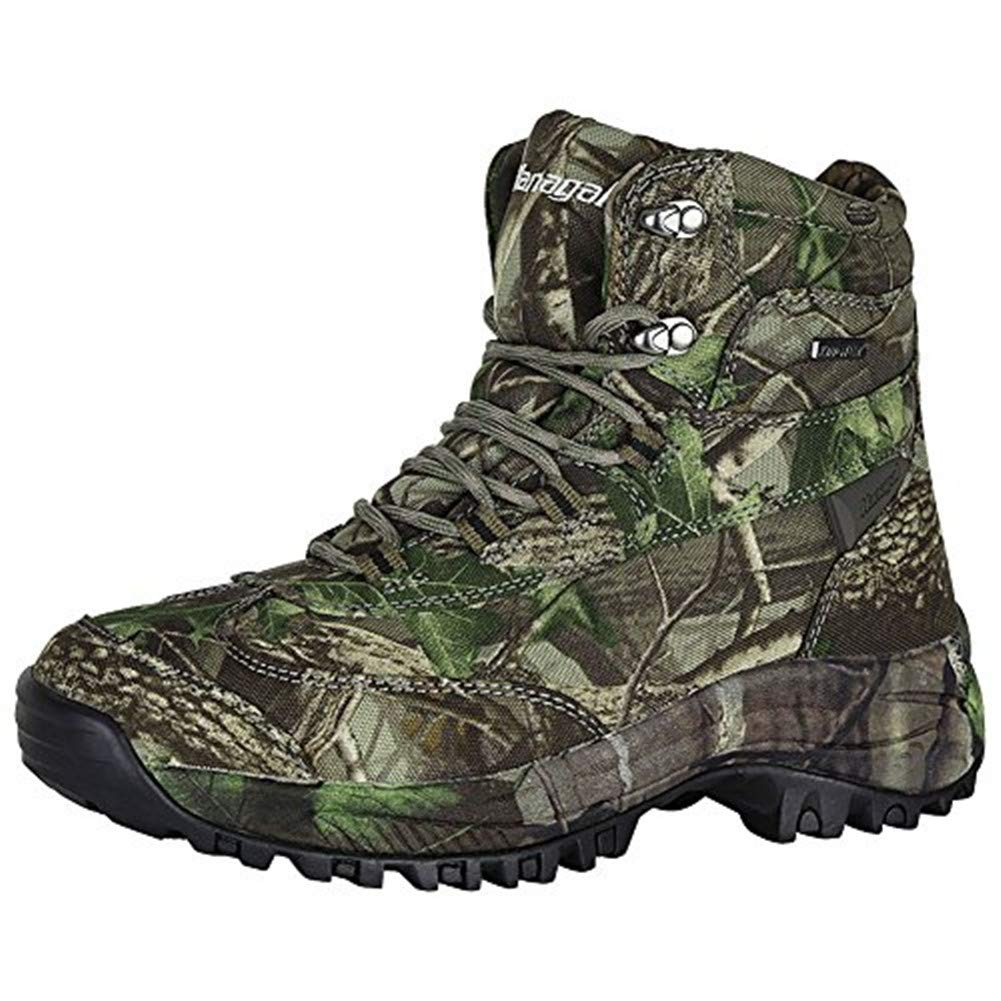 HANAGAL Men's Touraine Hunting Boots, Hiking Shoes (12.5) Camo