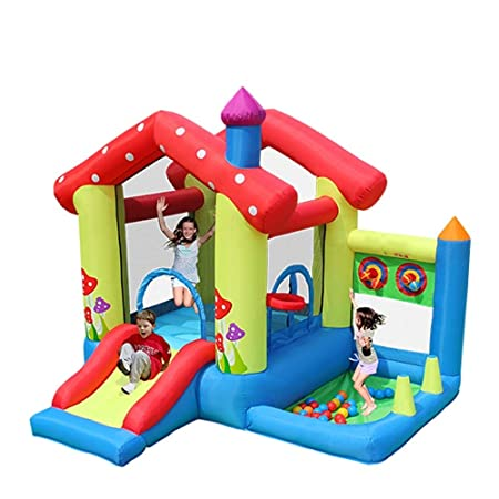 DorisAA-Toys Castillo Hinchable Inflable Casa Inflable ...