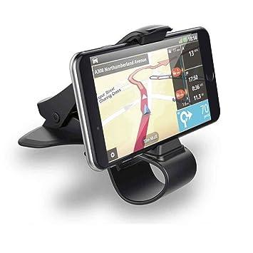 hunpta universal Auto salpicadero teléfono móvil GPS Soporte Stand HUD Diseño Cradle, color negro