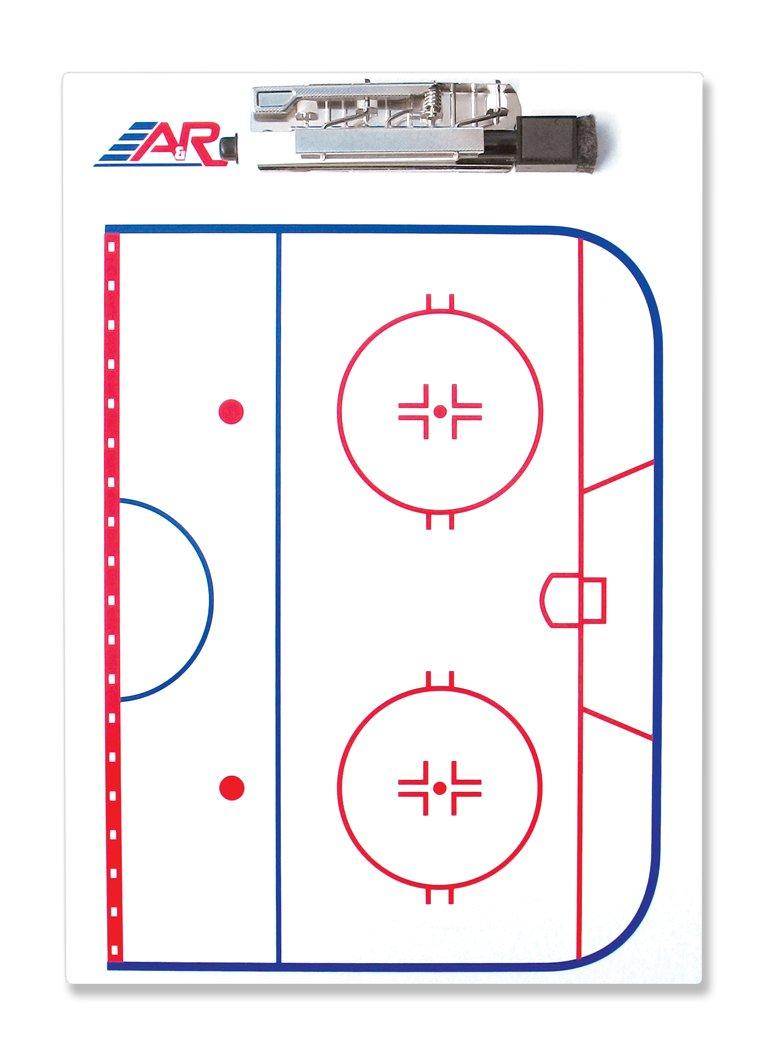 A& R Sports Hockey Coach Clip Board CCB