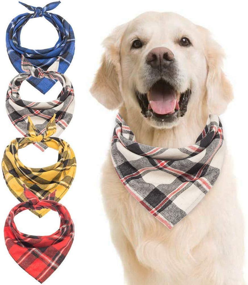 EASTER PLAID Dog Bandana