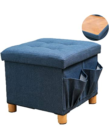 Swell Kids Ottomans Storage Ottomans Amazon Com Squirreltailoven Fun Painted Chair Ideas Images Squirreltailovenorg