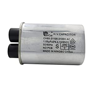 Meter Star CQC&VDE Universal Household Microwave High Voltage Capacitor 1.05uf ch85 21105 2100V AC H.V.CAPACITOR 10/85/21 50/60Hz NO PCB,VDE EN61270-1