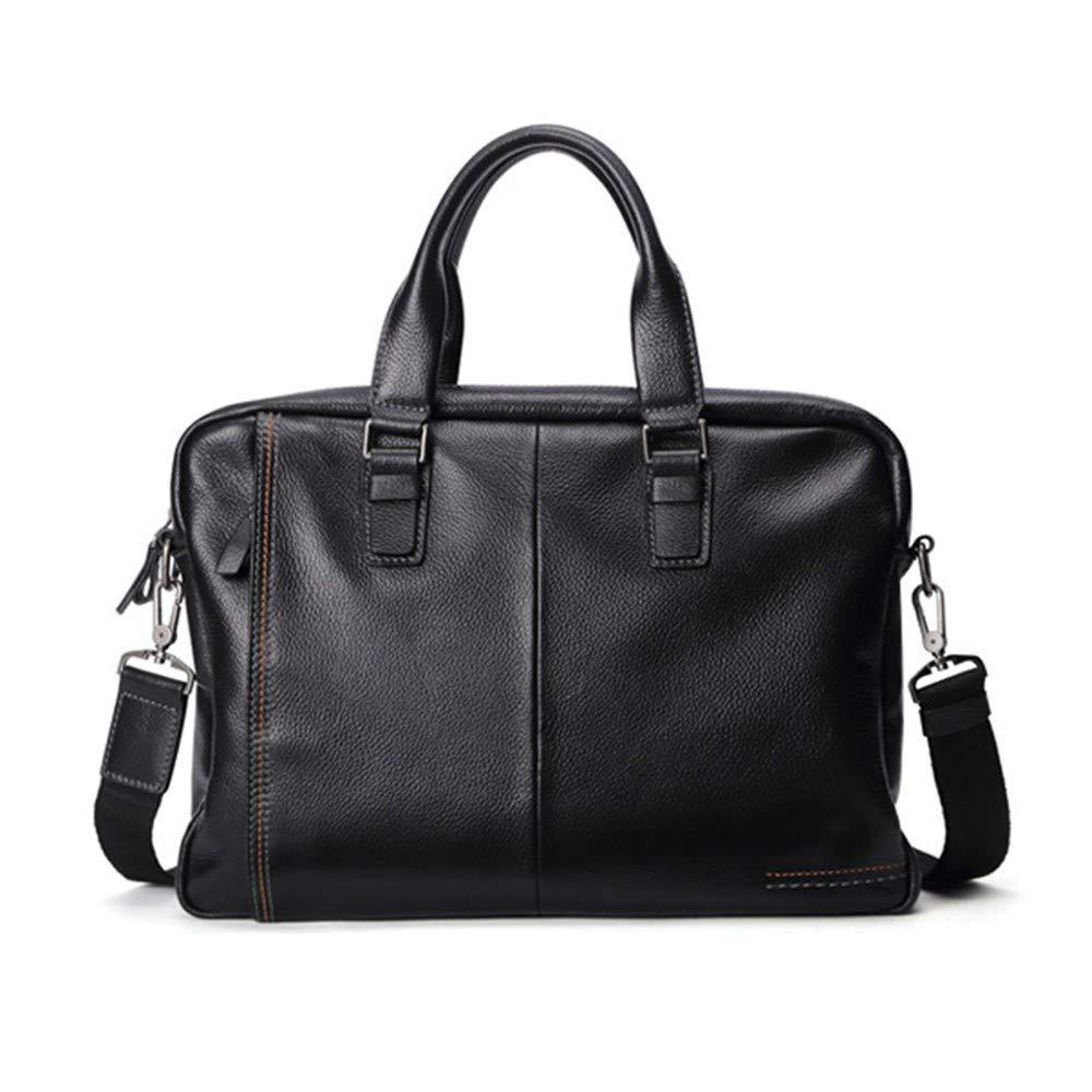 Lianaic Laptoptasche Herren Große Tasche Leder Mode Aktentasche Große Herren Kapazität Geschäft Damen Tasche Herren Schulter Messenger Bag Laptop Bag 78eb2b