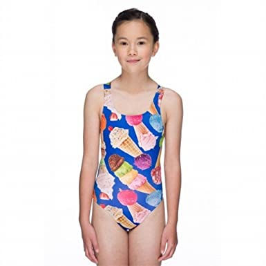 "2b25df5c8f Maru Junior Girls Sorbet Pacer Auto Back Swimming Costume (Size 22"")"
