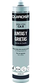 Quiadsa 52502020 Sellador Acrílico, 300 ml: Amazon.es: Bricolaje y ...