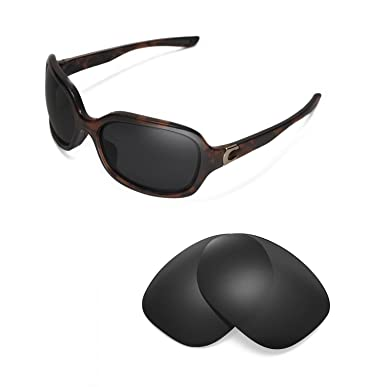 a55a7008942 Walleva Replacement Lenses for Oakley Pulse- Multiple Options (Black -  Polarized)