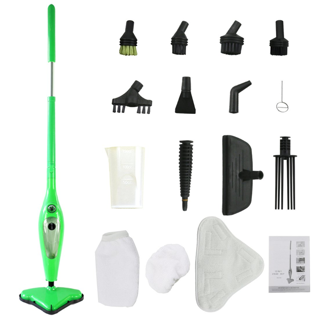 Amazon.com - MissyeeDirect Steam Mop X12 Steam Cleaner for Floor ...