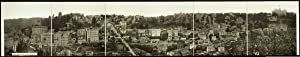 "c1914 Birds eye view of Eureka Springs, Ark. 42"" Panorama photo"