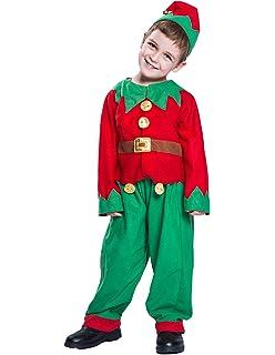 Amazon.com: Smiffy s – Disfraz de elfo los niños (Navidad ...