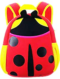 Qrose Preschool Little Kid Backpack Neoprene Animal Ladybug