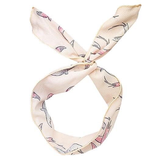 10dd40e246a5b Women Scarf, Fascigirl Fashion Satin Silk Printed Square Scarf Neck Scarf  Head Hair Scarf for