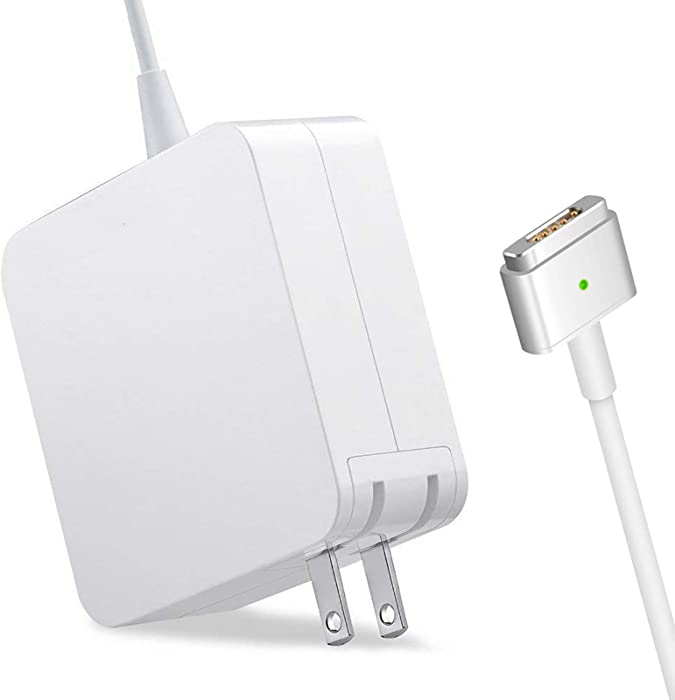 Mac Book Pro Charger, 60W Power Adapter T-Tip Magnetic Connector Charger Compatible with Mac Book Pro Retina 13-inch and Mac Book Air(After Late 2012)