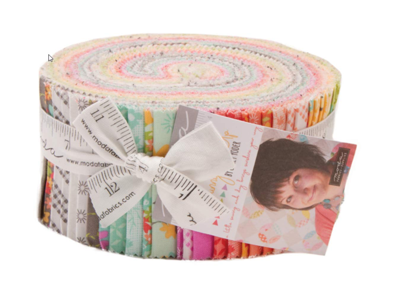 Sunnyside Up Jelly Roll 40 2.5-inch Strips by Corey Yoder for Moda Fabrics 29050JR, Assorted by MODA