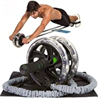weefsel weerstandsbanden 1pc / 60cm Ab Roller Wheel Pull Rope Taille Buik Afslanken Fitness apparatuur Body Building…