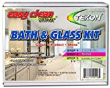 Tekon - Easy Clean Forever® Bath and Glass Kit - Complete Do-It-Yourself Cleaner/Protector Sealant Treatment