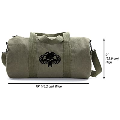 82nd Airborne Army Sport Heavyweight Canvas Shoulder Duffel Bag