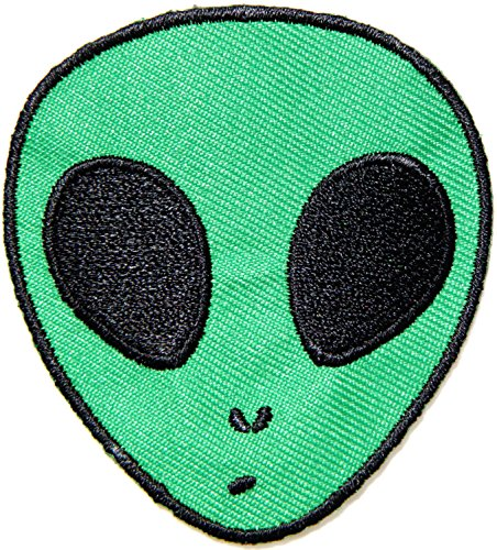 Alien UFO NASA Kid Baby Jacket T-shirt Patch Sew Iron on Embroidered Sign Badge Costum Gift