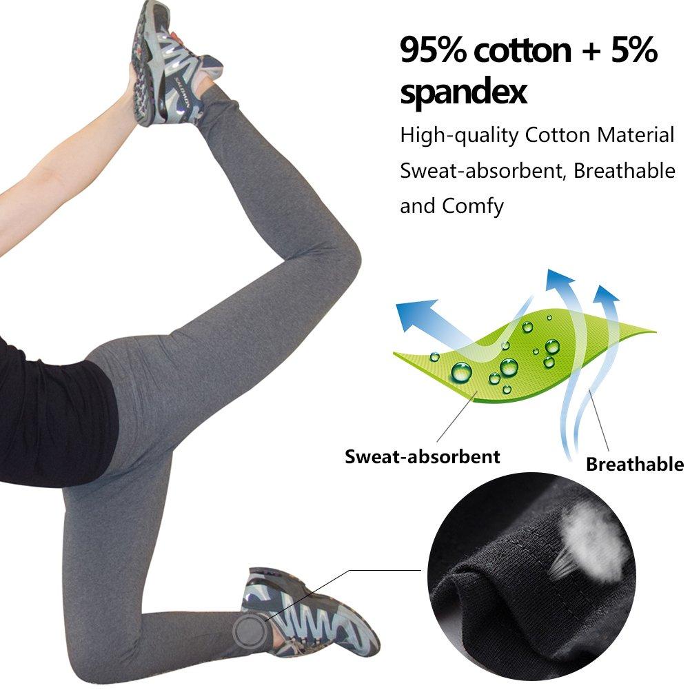ABUSA Femme Yoga Legging Pantalon de Sport pour Fitness Gym Pilates   Amazon.fr  Vêtements et accessoires 7fa64414452