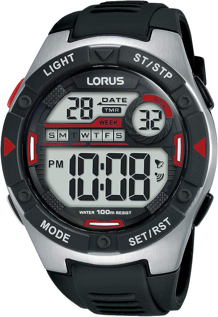 Lorus Reloj Digital para Hombre de Cuarzo R2393MX9