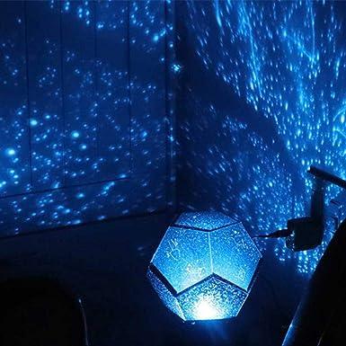Galaxia Lámpara Proyector Estrella Bebé Niños Luz de noche para ...