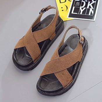 8cbc84c59e2c4 QINGXIA ZI-Zapatos Chanclas para Mujer Damas deslizadoras Leopardo ...