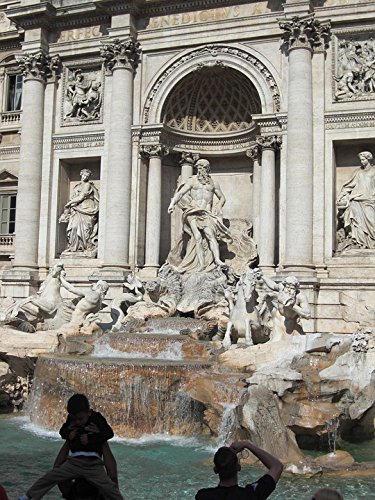 Home Comforts Canvas Print Fountain Trevi Fountain Italy Fontana Di Trevi Rome Stretched Canvas 10 x 14