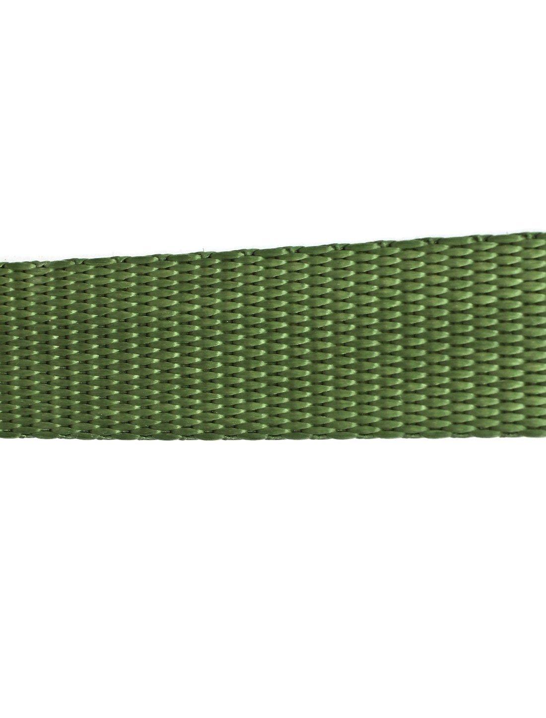 Voyage bagages en métal réglable à cliquet Sangle d'arrimage 5 M 16ft vert