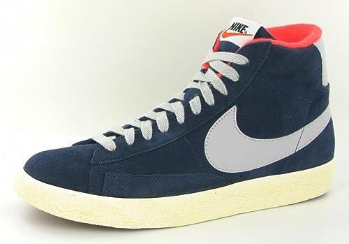 Nike Blazer Mid PRM VNTG Suede Mid Bleu MarineStrata Gris