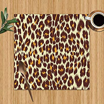 surce Textura de Leopardo Jaguar Skin Abstract Manteles Lavables ...
