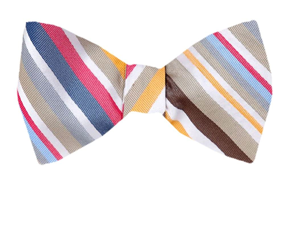 Tie yourself Bow Ties Silk Mens Yellow and Gold Self tie Bowtie Many Designs Available