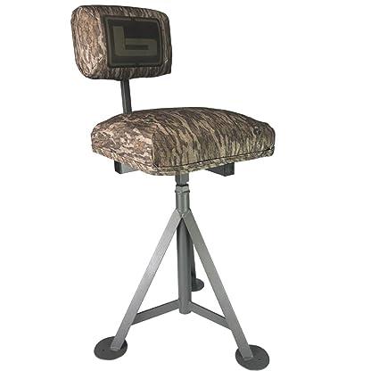 Stupendous Tripod Blind Stool Bottomland Theyellowbook Wood Chair Design Ideas Theyellowbookinfo