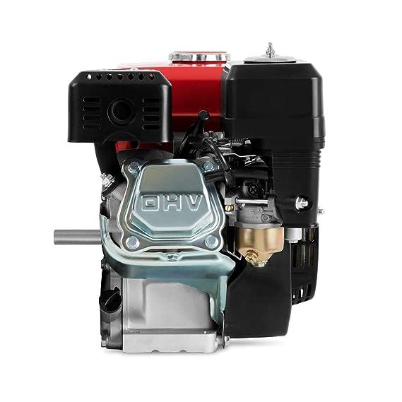 EBERTH 6,5 CV / 4,8 kW Motor de gasolina de 4 tiempos 20mm