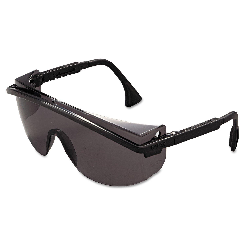 Honeywell International Inc Pack of 10 Gray Lens Ultra-dura Anti-scratch Coating 1233C46PK UVEX by Honeywell 763-S1369 Astrospec Series 3000 Safety Eyewear Black Frame