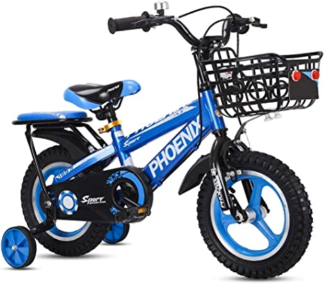 Xiaoping Bicicleta para niños 2-3-4-6-7-8 años Bicicleta para ...