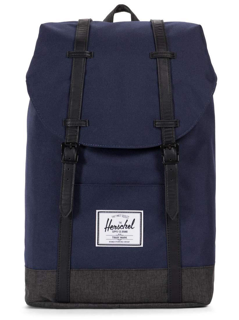 Herschel Retreat 19.5L Backpack (Peacoat/Black Crosshatch) 10066-02173-OS