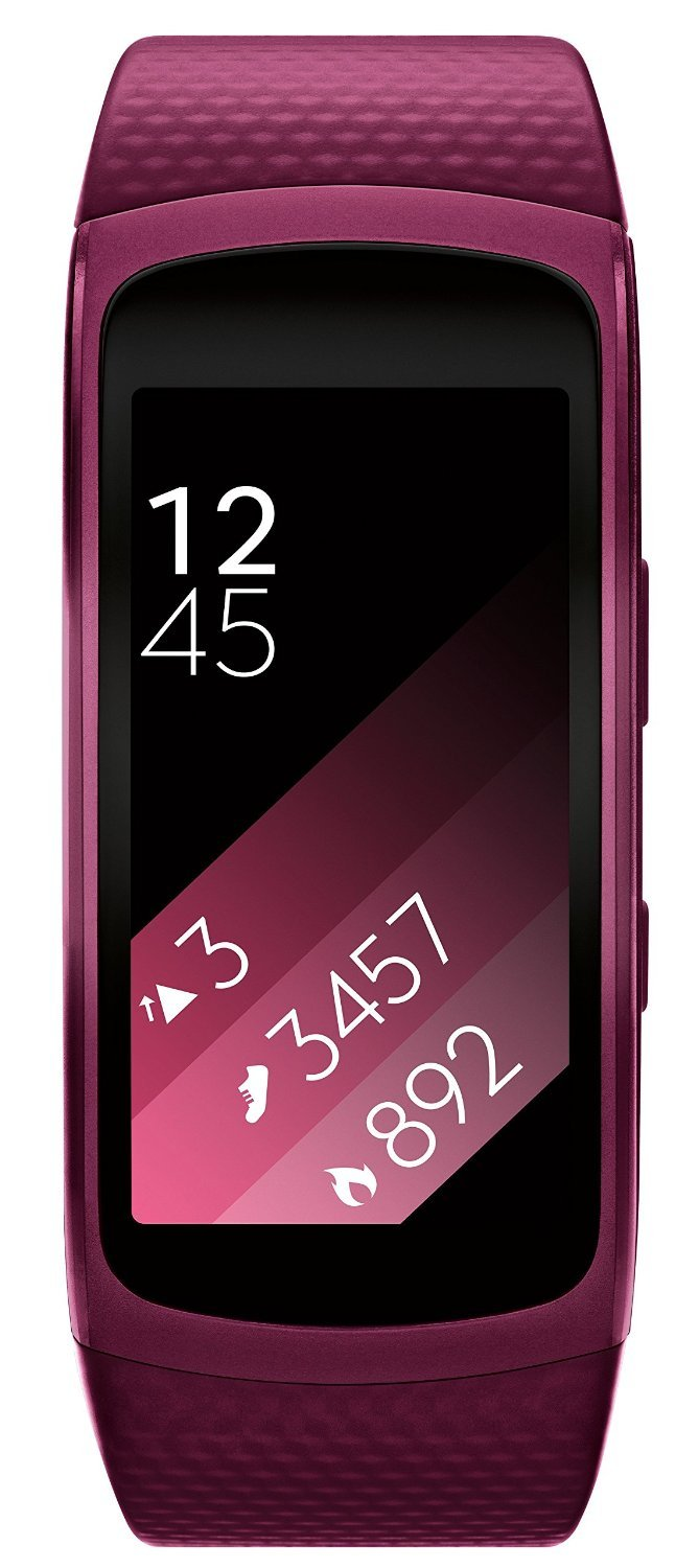 Samsung Gear Fit2 SmartWatch (Small), Pink (Certified Refurbished)