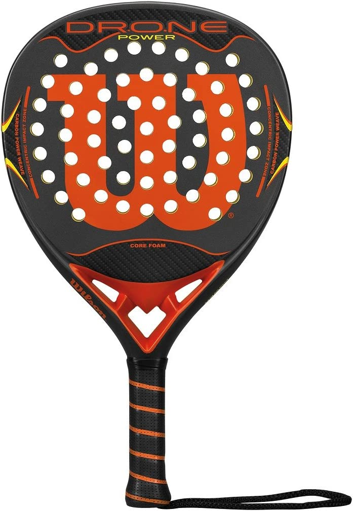 Wilson Drone Power Paddle RKT Gyor - Pala de pádel, Color Gris ...