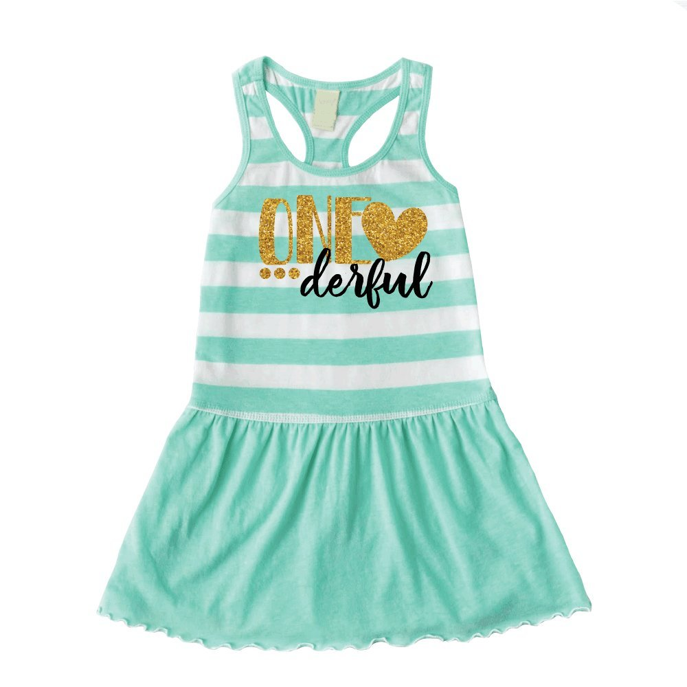 One Year Old Girl Birthday Outfit First Birthday Dress