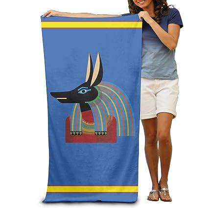 """Egipcio antiguo Egipto Jeroglíficos adultos algodón toalla de playa (31 """" ..."""