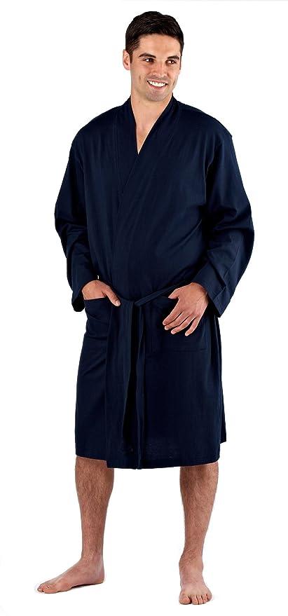 Mens Harvest James Lightweight 100% Cotton Lounge Wear Jersey Kimono ...