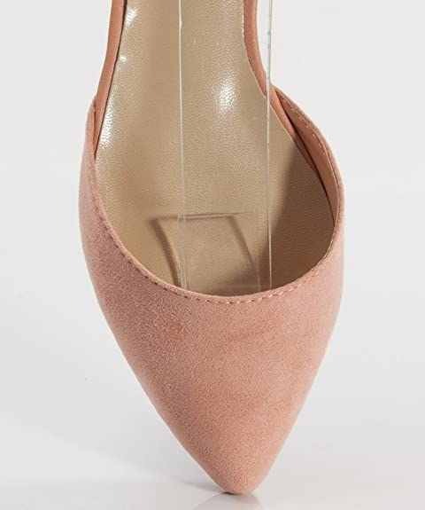 Amazon.com: Breckelles Dolley-21 Leatherette Pointy Toe D ...