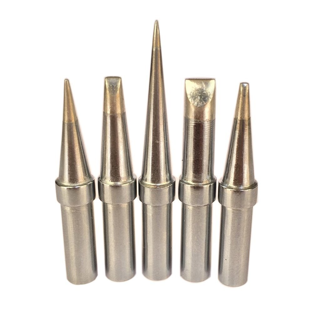 ShineNow Quality Replacement Tips for Weller WES51 WESD51 WE1010NA WCC100 PES51 ET Tip Series(5PCS Tip Set)