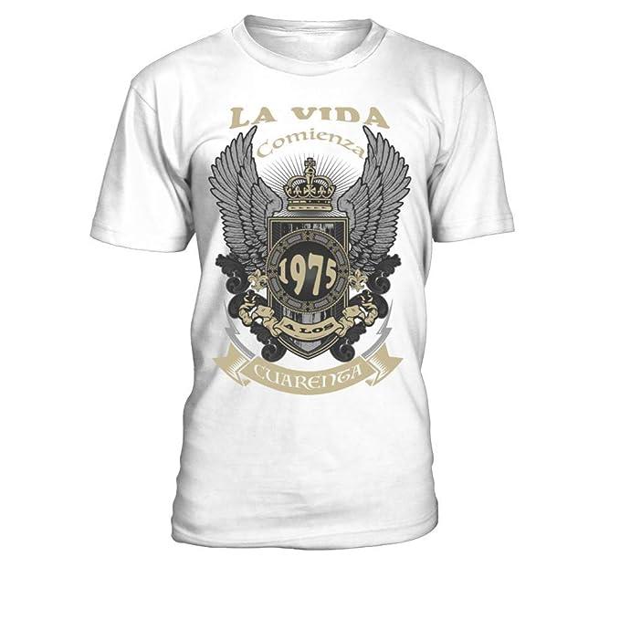 En Comienza A Los Camiseta Hecho 40 Hombre Vida 1975 La Teezily lFcT13KJu