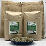 25LB - TANZANIA PEABERRY (includes FREE BURLAP BAG) Specialty-Grade – Fresh-Current-Crop – Unroasted Green Coffee Beans – Wet Processed, Sundried – Plant Varietal Bourbon, Typica – Farm: Tembo Coffee
