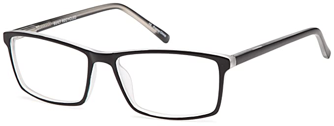 dalix solid color frames glasses eyeglasses 53 17 140 black crystal